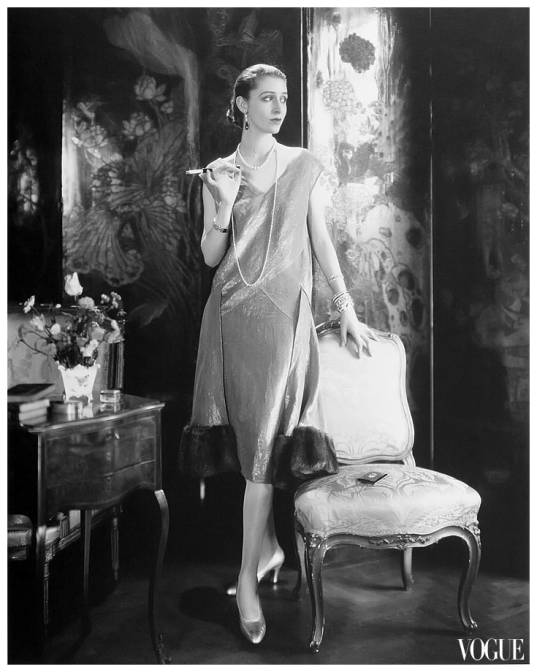 "Edward Steichen s portrait of Marion (""wearing a dress by Lelong and  Jewelry by Black 943d0b45f"